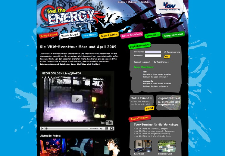Feel the Energy :: Die VKW-Eventtour